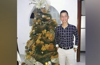 Roberto José Mejía mancera, desaparecido.