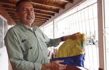 Richard Blanco, diputado de la oposición.