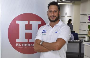 Camilo Becerra, gerente de la Fecna, en EL HERALDO.