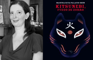 Martha Riva Palacio, autora de 'Kitsunebi, fuego de Zorro' (2019).