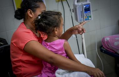 La menor se encuentra recluida en el Hospital Niño Jesús de Barranquilla.