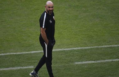 Félix Sánchez, DT de Catar.