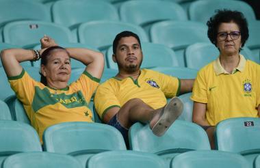 La afición brasileña no ha respondido en masa a los partidos de la Copa América. Ni la Canarinha los anima.