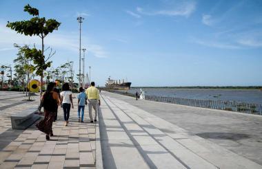 El Gran Malecón del río Magdalena es uno de los atractivos turísticos de Barranquilla.
