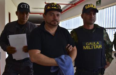 Alexis Abreu, venezolano que confesó el crimen del comerciante Buitrago.