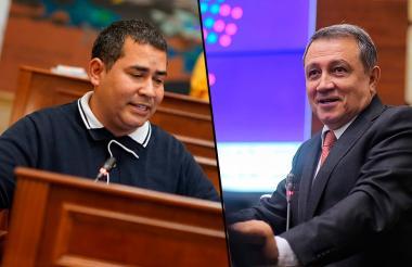 Carlos Chacón y Ernesto Macías.