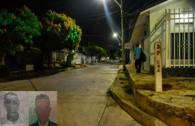 Los heridos fueron identificados como Yoyfer de Jesús Jiménez Barrios y Omar Yesid Rivera Romero.