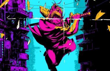 El Dragón, un 'samurai' vengador, es el protagonista del aclamado videojuego de acción 'Katana Zero'.