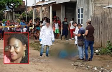 La mujer murió en el acto por la gravedad de las heridas que sufrió.