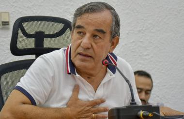 Fidel Castaño, gerente de Ingresos del Distrito