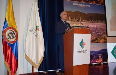 Pedro  Bohórquez Ramírez, contador General de la Nación.