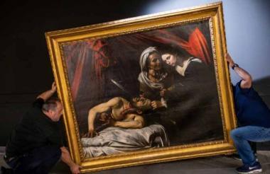 'Judith y Holofernes'.