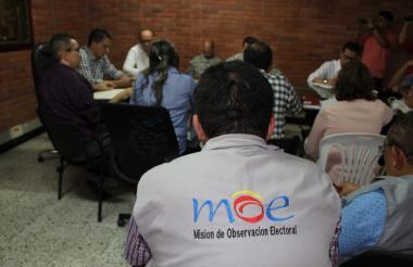 La MOE está presente en los consejos de seguimiento electoral en Sucre.