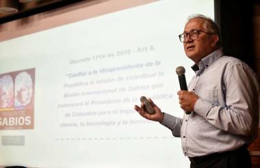 El doctor Juan Anaya, coordinador del foco Ciencias de la Vida y la Salud.