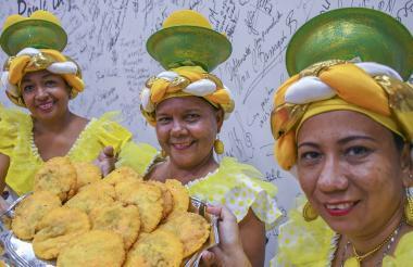 Las mujeres de Luruaco son pieza clave en su fiesta.