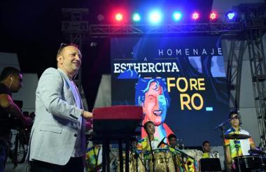 Chelito de Castro formó la orquesta Joe All Stars hace 3 años.