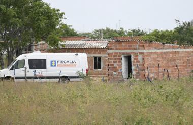 En esta vivienda de su propiedad fue encontrada sin vida Adys Madariaga Gulfo.