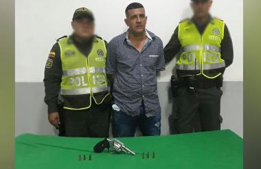 Hugo Mercado Narváez, capturado.