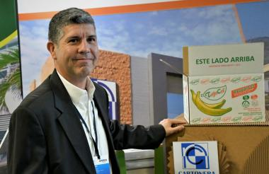 Julián Arévalo, gerente de Cartonera Nacional.
