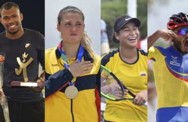 Anthony Zambrano, Gabriela Bolle, María Fernanda Herazo y Álex Cujavante Luna.