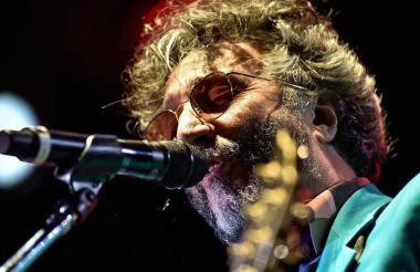 El argentino Fito Páez presentó 'La ciudad liberada'.