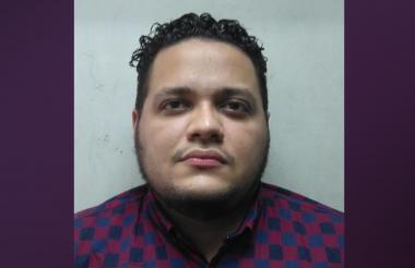 César Brayan Montaño Guerra, capturado.