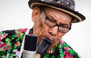 """El músico Pedro """"Ramayá"""" Beltrán."""