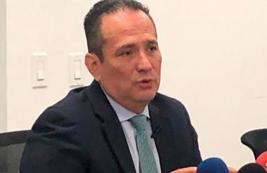 Ramón Rodríguez, director Unidad de Víctimas.