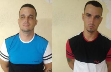Ángelo Jesús Durán Ferrer, de 24 años, y José Alfredo Durán Ferrer, de 22 años.