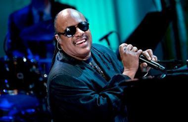 Stevie Wonder, de 69 años, en un concierto.