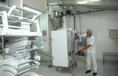Instalaciones de Coolechera, cooperativa del sector lácteo en Barranquilla.