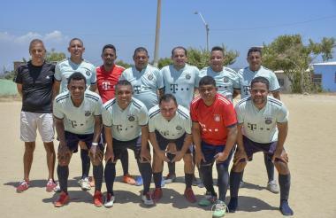 El equipo de Real Betulia, del torneo de fútbol de Villa del Rosario.