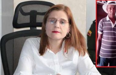 Gobernadora de Córdoba, Sandra Patricia Devia Ruiz.