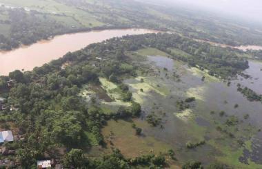 Montería, Lorica y Tierralta son los tres municipios con mayor riesgos en el cauce del río Sinú.