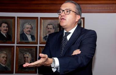 El procurador General de la Nación, Fernado Carrillo.
