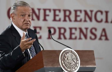 Andréz López Obrador, presidente de México.