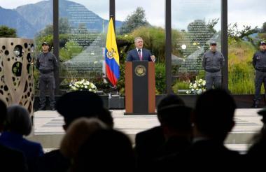 Iván Duque, presidente de Colombia, dio el anuncio  en el marco de la conmemoración de los 27 años de la Fiscalía.