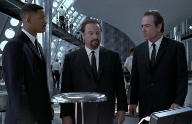 Will Smith, Rip Torn y Tommy Lee Jones.