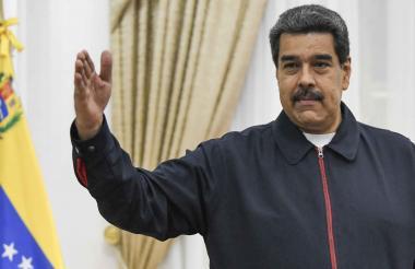 Nicolás Maduro, presidente chavista.