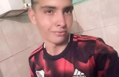 Ramón Ismael Coronel, de 17 años, portero del club Unión de Golondrina.