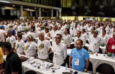 Más de 1.200  ediles y 40 delegaciones participan en el congreso nacional.