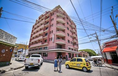 El Legado, un edificio residencial ubicado en la calle 43 con carrera 45 esquina, en el Centro Histórico.