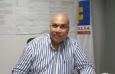 Vicente Guzmán , exdirector seccional de la Fiscalía en el Magdalena.