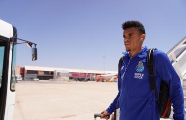 Luis Díaz arriba su vuelo para el inicio de la pretemporada con el Porto.