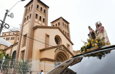 Iglesia del Carmen.