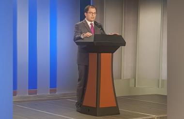 Francisco Barbosa, consejero presidencial para los Derechos Humanos.