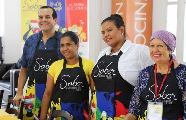 Finalistas del concurso de Sabor Barranquilla 2018.