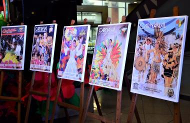 Con motivo de los 15 años de la revista del Carnaval de Barranquilla, todas las portadas, desde que salió la primera publicación en 2003, estarán exhibidas en Buenavista II hasta finales de este mes.