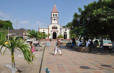 Plaza de San Onofre, donde hay tranquilidad pero miedo en sus habitantes.