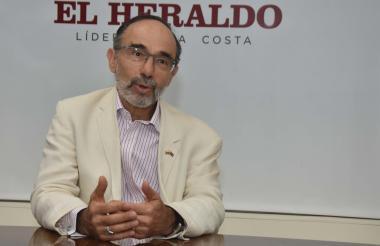 Petter Tibber, embajador británico en Colombia, en  visita a EL HERALDO.